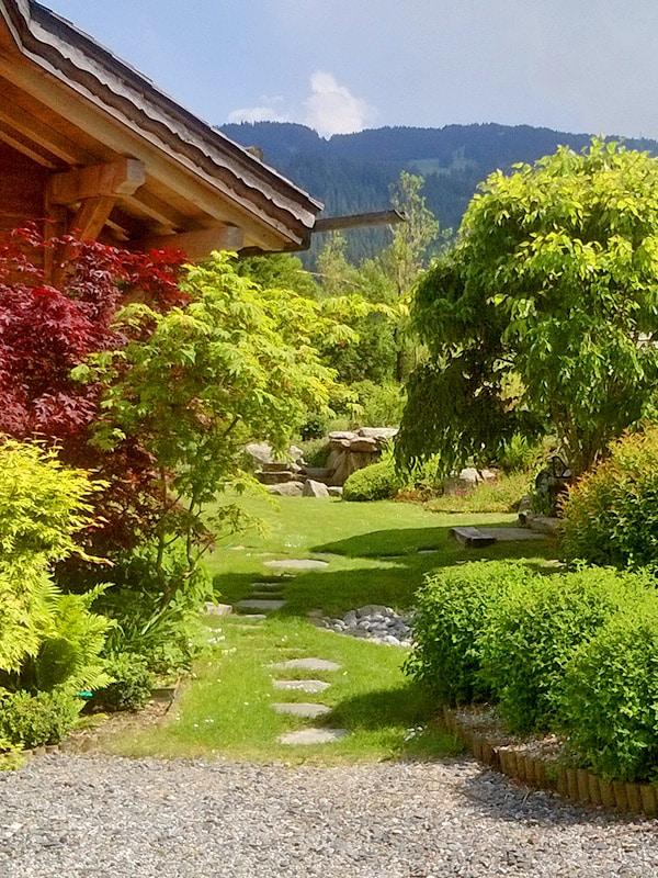 Mabboux parcs et jardins paysagistes Combloux | Création paysagère
